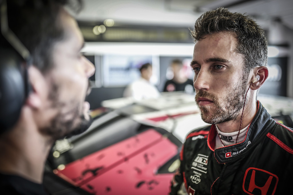GUERRIERI Esteban, (arg), Honda Civic TCR team ALL-INKL.COM Munnich Motorsport, portrait during the 2018 FIA WTCR World Touring Car cup race of Slovakia at Slovakia Ring, from july 13 to 15 - Photo Jean Michel Le Meur / DPPI
