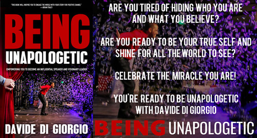 be unapologetically you -Being Unapologetic book cover