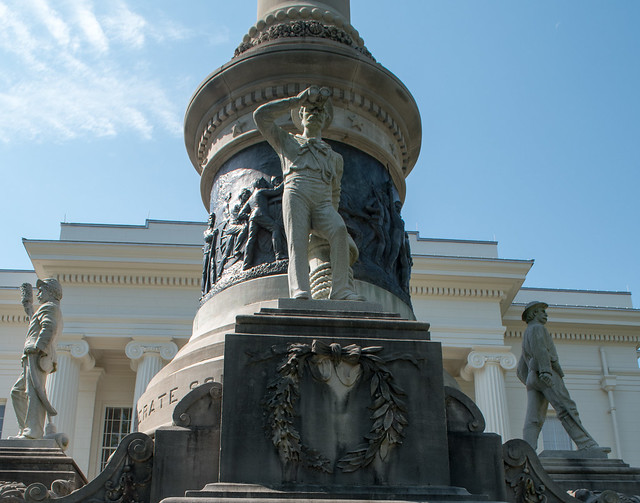 Montgomery Capitol Confederate Monument (#0650), Nikon D5600, AF-S DX VR Zoom-Nikkor 18-55mm f/3.5-5.6G