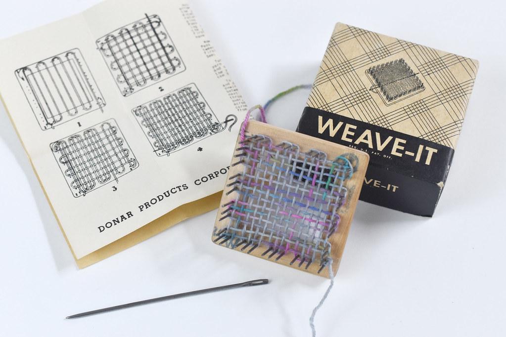 Vintage Weave-It Tool