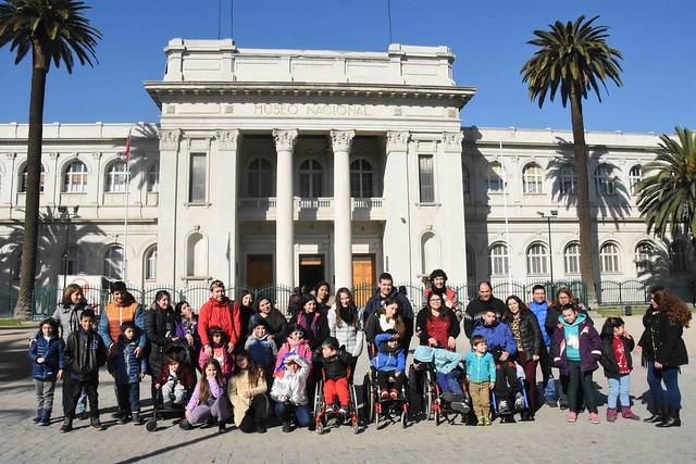 20-jul-18-Niños de Teletón visitaron Museo de Historia Natural