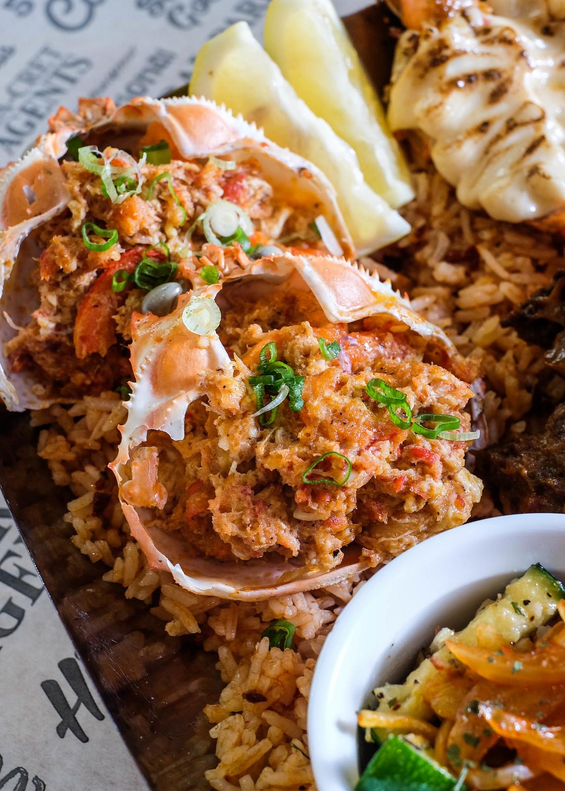 曼哈顿鱼市拼盘-辣椒蟹
