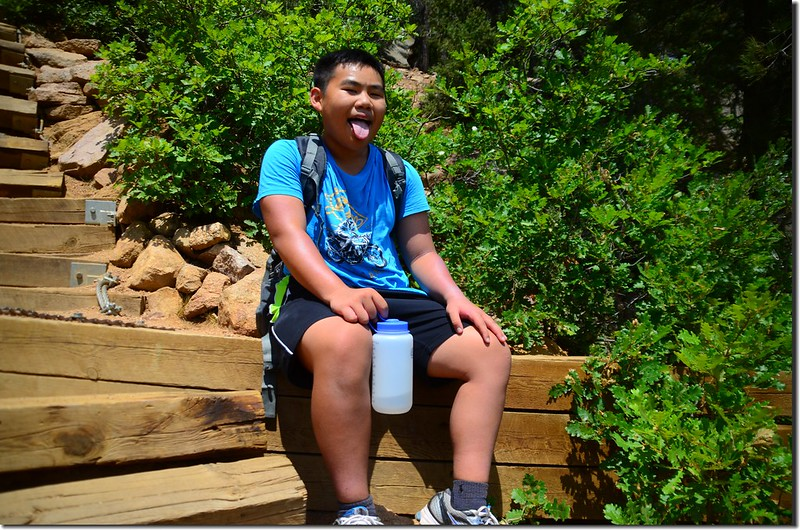 Jacob on his way up to the top of the incline (4)