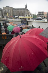rainy day in Amsterdamp