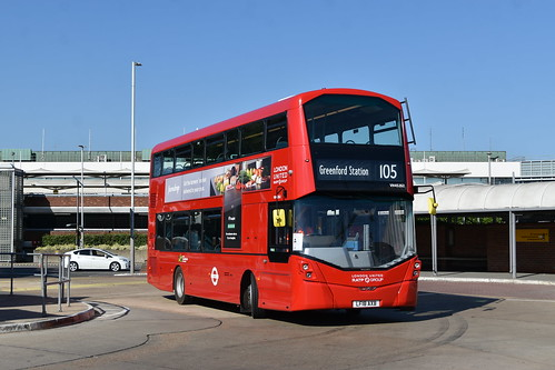 *NEW* RATP London United: VH45262 | LF18AXB || 105: Heathrow Central - Greenford Station