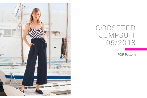 Corseted Jumpsuit