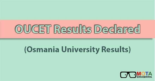 oucet rank card 2018 download oucet results