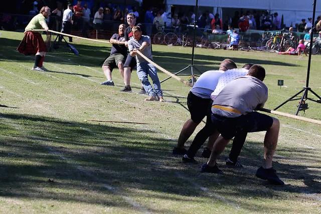 Tug O War - Ceres Highland Games