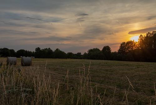 Sunset in Hoegaarden