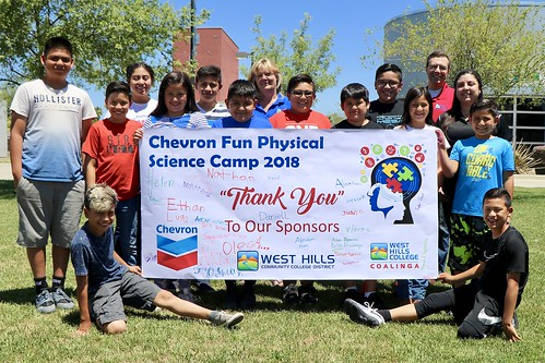 WHCC Chevron Fun Physical Science Camp 2018