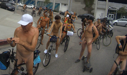 L.A. World Naked Bike Ride 2018 (134513)