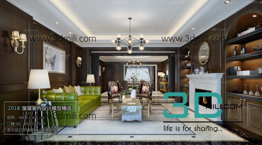 22. Mix Style Living Room 3Ds Max file free download - 3D Mili ...