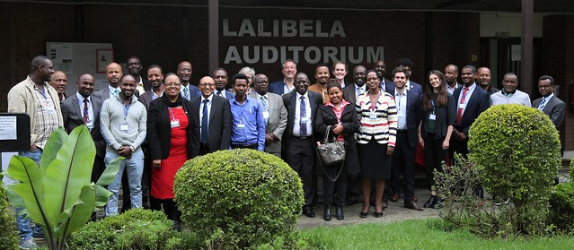 Participants at the policy dialogue on scaling IBLI in Ethiopia_11th July 2018 Bethlehem Alemu
