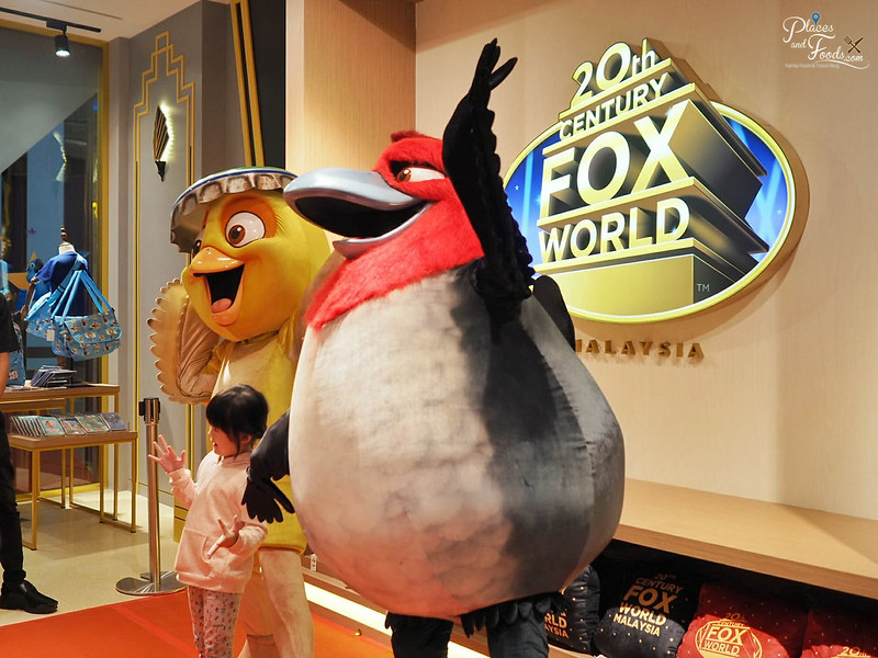 20th Century Fox World Store Malaysia angry birds