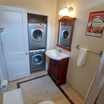 Bath and washer dryer