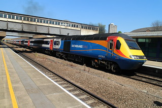 43064 1B53 Nottingham to London St Pancras 05.07.18