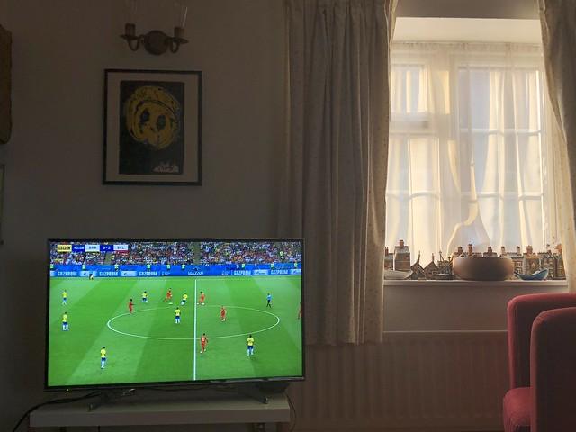 Brazil 1 - 2 Belgium