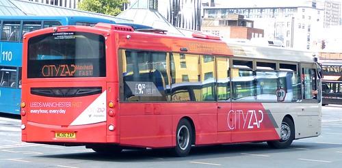 ML06 ZAP 'The Burnley Bus Company'No. 1871 'CITYZAP'. Volvo B7RLR / Wright Eclipse Urban 2 /4 on Dennis Basford's railsroadsrunways.blogspot.co.uk'