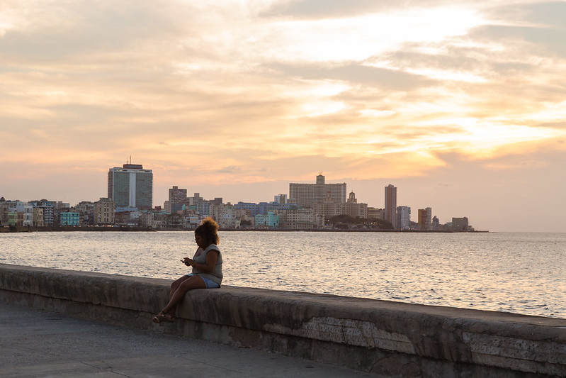 Sunset on the Malecon