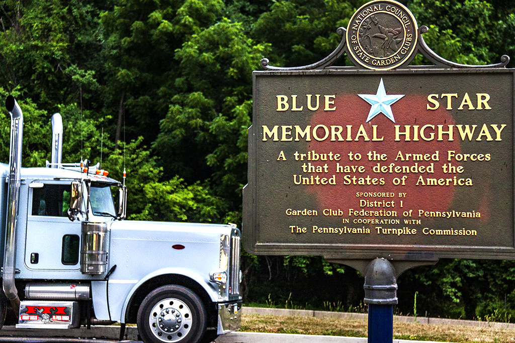 BLUE STAR MEMORIAL HIGHWAY--Valley Forge