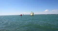 SAILING ON THE SOLENT.