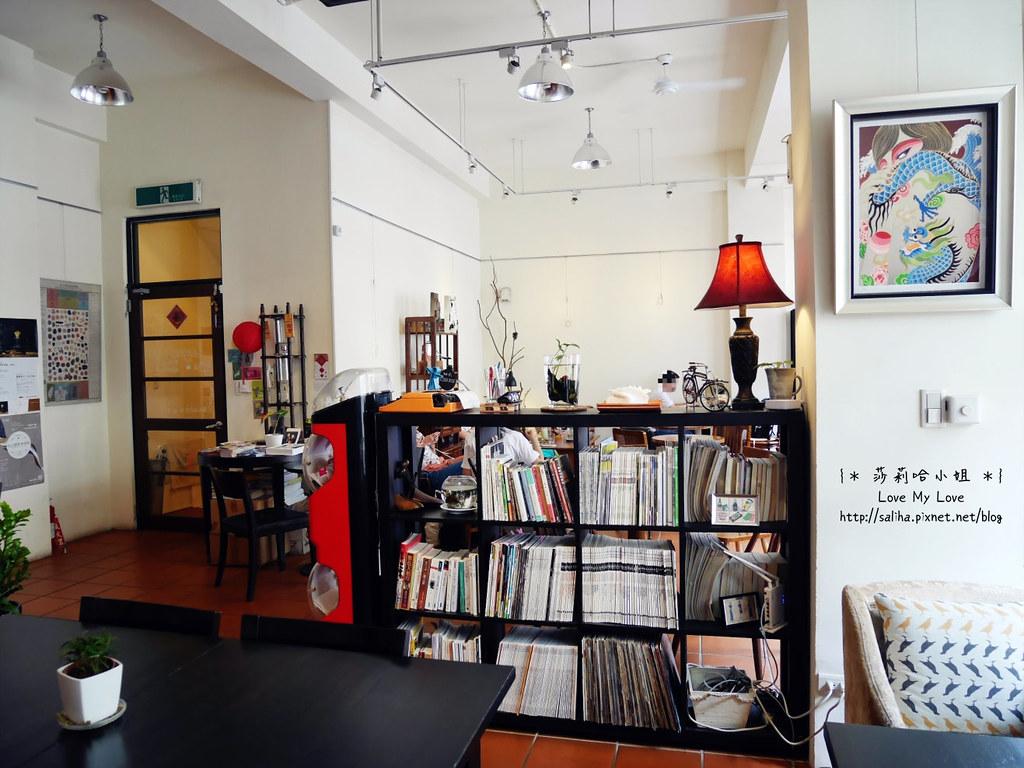 台北迪化街老屋爐鍋咖啡 Luguo Cafe小藝埕artyard (11)