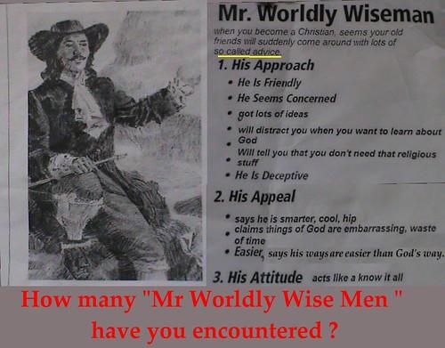 Mr. Worldly Wiseman