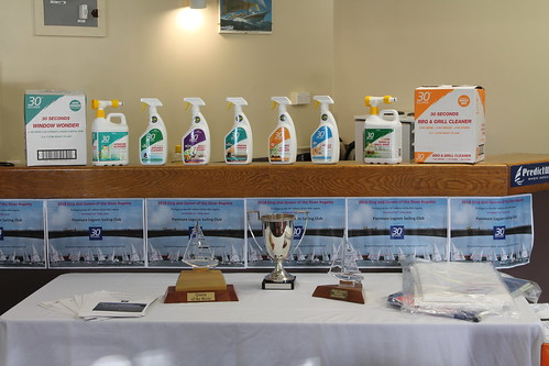 King and Queen of the River Regatta prize table