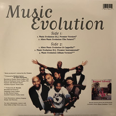 BUCKSHOT LEFONQUE:MUSIC EVOLUTION(JACKET B)