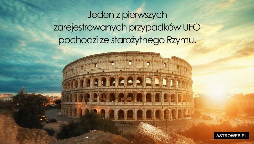 UFO u starożytnych Rzymian