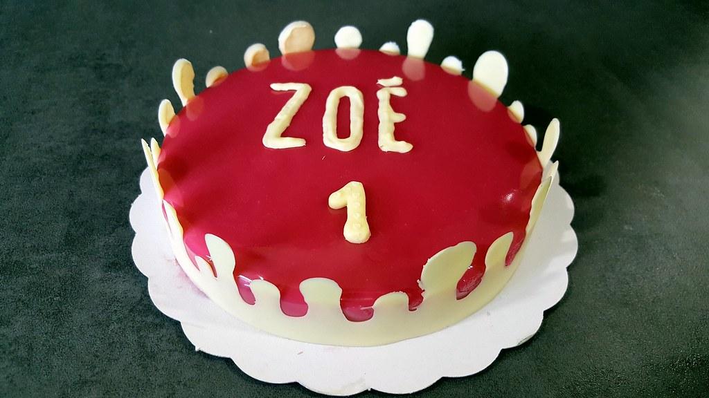 Joyeux Anniversaire Zoe Part Ii Bavarois Fraise Claire