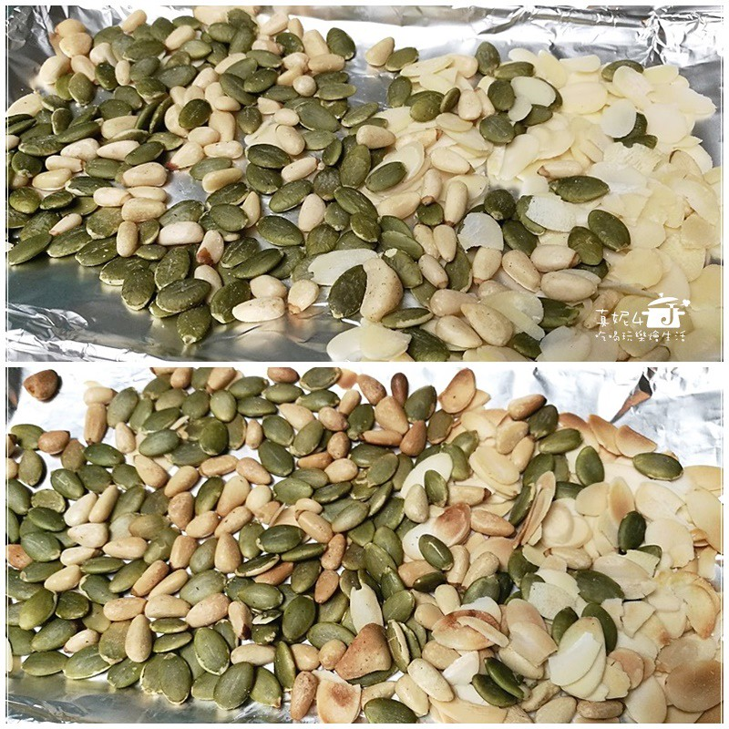 高麗菜捲堅果糙米飯的做法