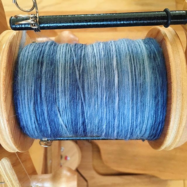 Spinning for Tour de Fleece. #tourdefleece #teamcatitude