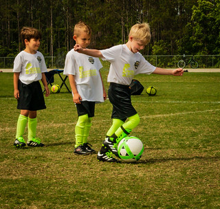 Honorable Mention - John Pascucci - Children Learning Sportsmanship and Soccer in Palm Coast