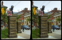 Little Italy of Toronto 3-D / CrossView / Stereoscopy