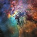 Hubble's 28th birthday picture: The Lagoon Nebula by europeanspaceagency