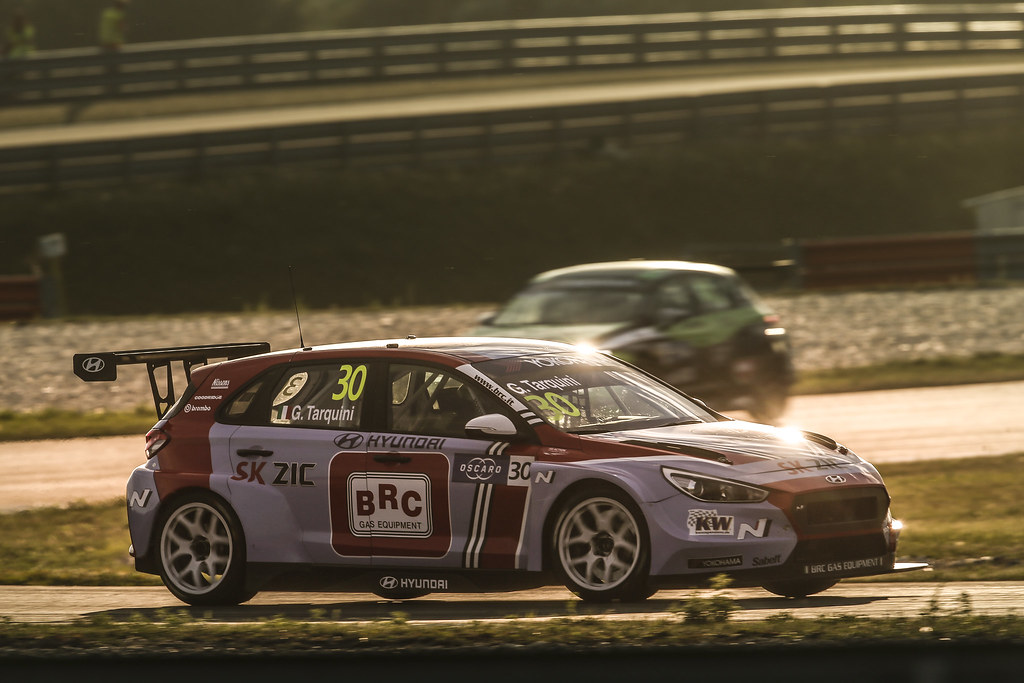 30 TARQUINI Gabriele, (ita), Hyundai i30 N TCR team BRC Racing, action during the 2018 FIA WTCR World Touring Car cup race of Slovakia at Slovakia Ring, from july 13 to 15 - Photo Jean Michel Le Meur / DPPI