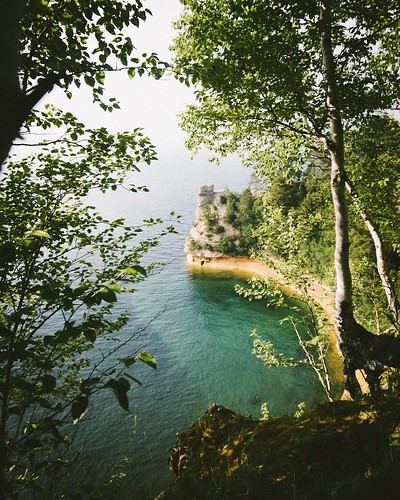 Miners Castle is a must go when you're up and about in Michigan's Upper Peninsula. Photographer Nic Sagodic