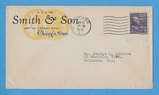 June 19, 1939 Smith and Son postcard