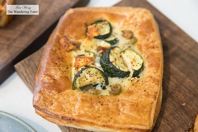 Zucchini croissant