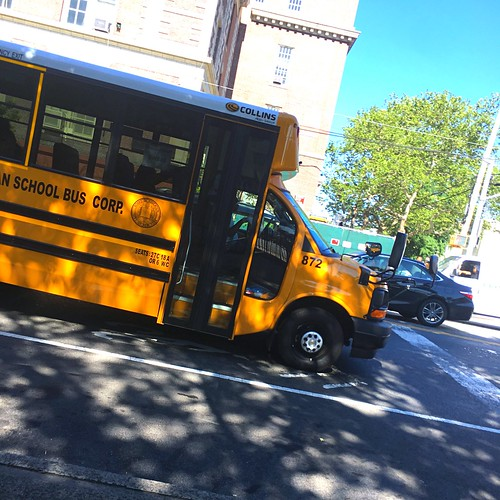 2018 Chevy Express 4500, With a Collins DE516WR Body, All American School Bus Corp, Bus#872