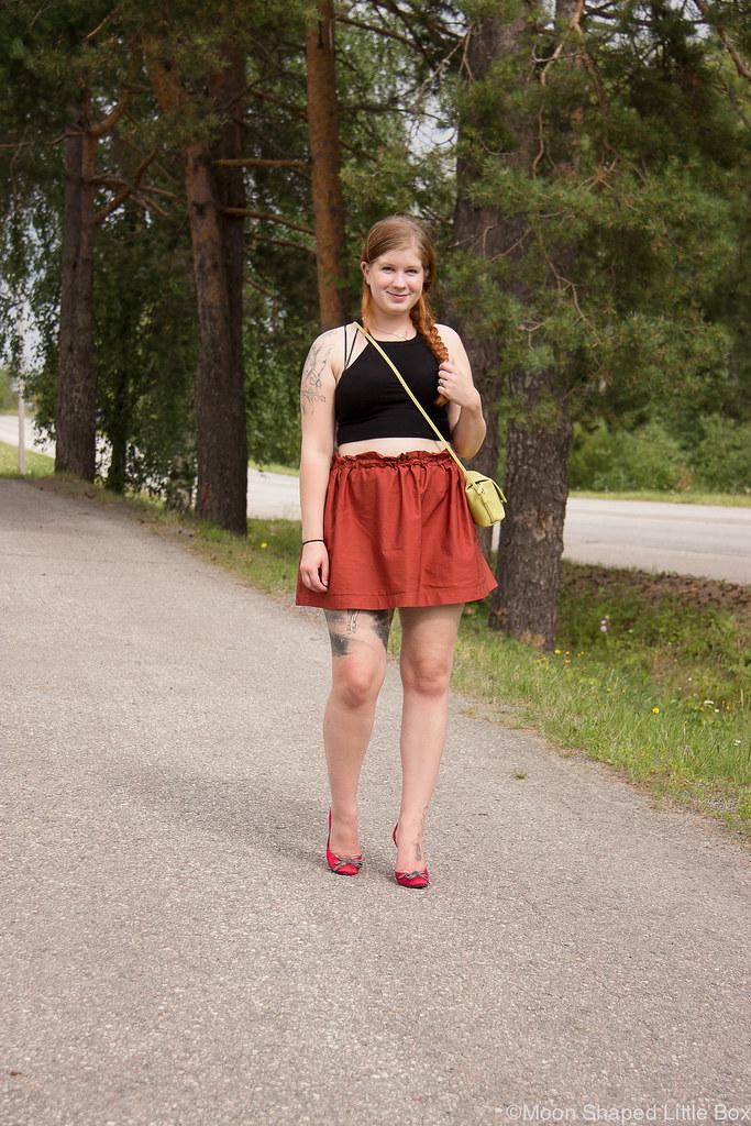 bloggaaja, tyyli, päivän asu, napapaita