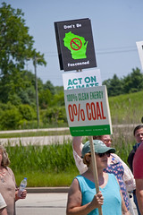 Protesting the Soon to be Built Foxconn Electronics Plant Mt. Pleasant Wisconsin 6-28-18  2077