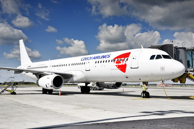 Airbus A321 Czech Airlines