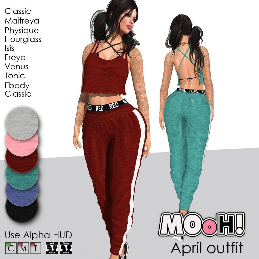 April outfit - TeleportHub.com Live!