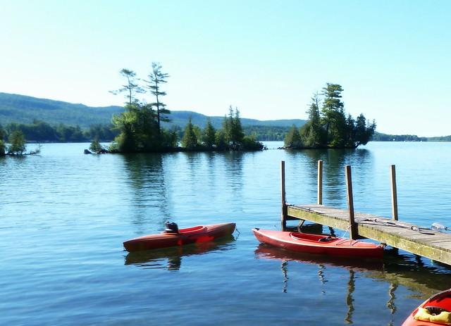 A break at the lake