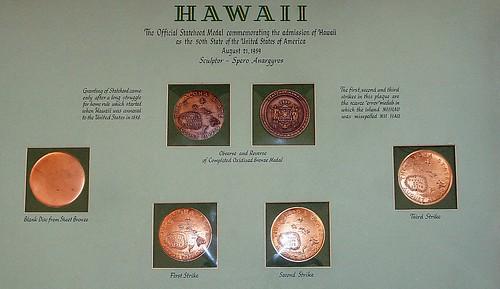 Hawaii Statehood medals