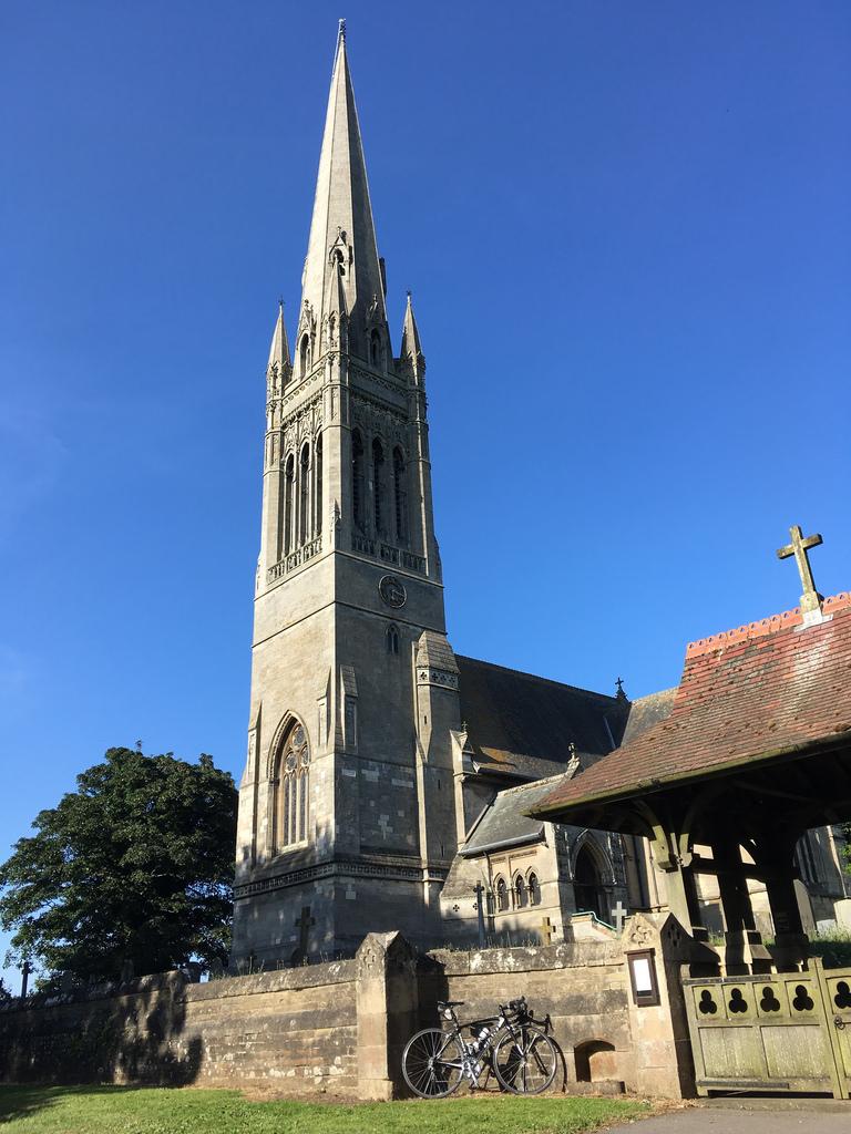 South Dalton St Mary's spire 1024