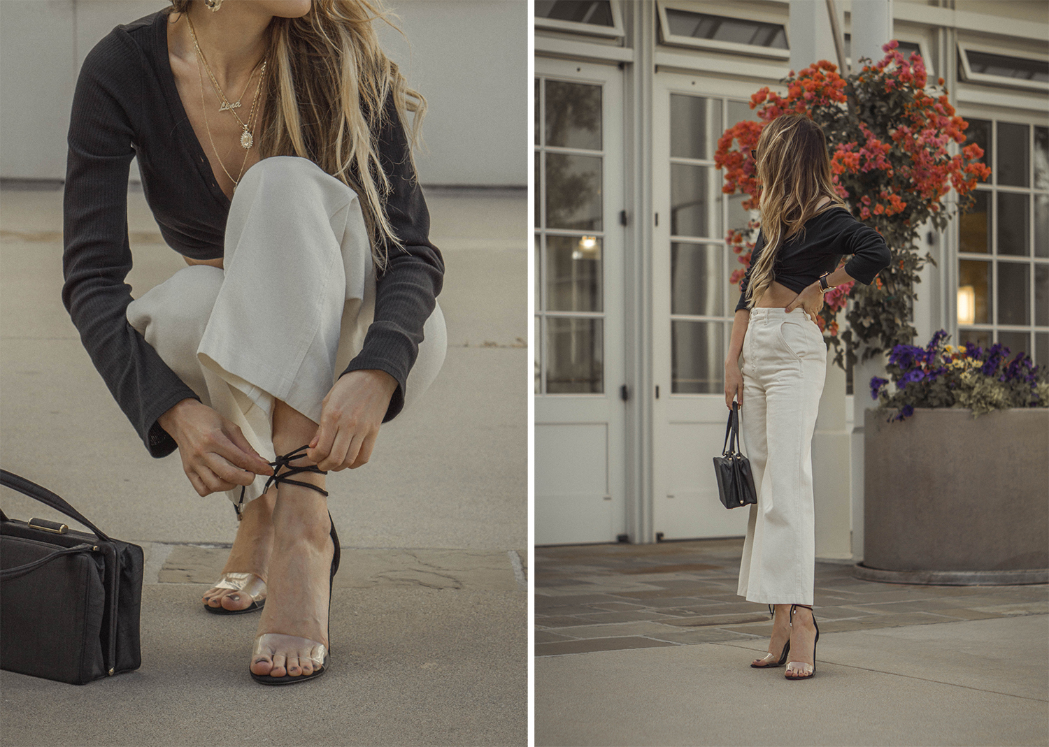 high_waisted_wide_white_jeans_clear_shoes_heels_street_style_outfit_fashion_blogger_vintage_lena_juice_the_white_ocean_09
