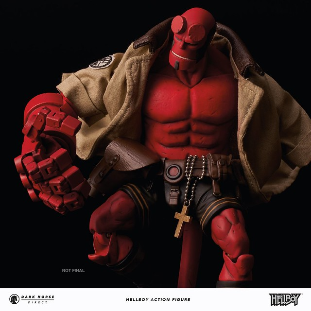 Release Update Go To Hell With The Hellboy 1 12 Action Figure From